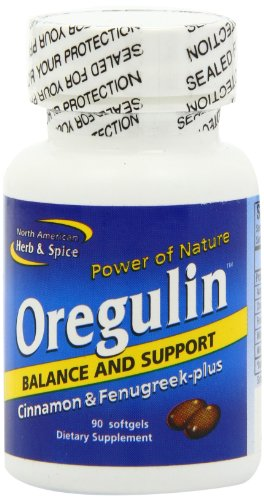 North American Herb and Spice, Oregulin Gel-Capsules, 90-Count For Sale