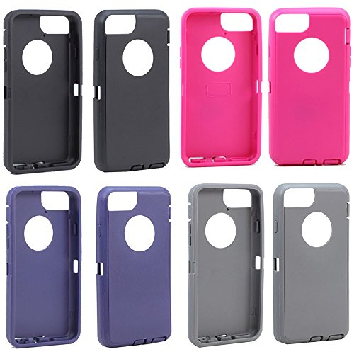 Replacement Generic Aftermarket TPE Silicone Skin for Otterbox Defender Case Cover For Apple iPhone 4 4S 4G 4GS