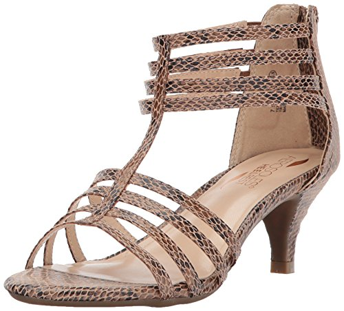 Aerosoles Women's Limeade Dress Sandal, Bronze Snake, 10 M US