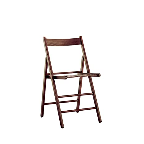 ARREDinITALY, Juego de 2 sillas Plegables de Madera de Haya ...