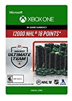 NHL 18 Ultimate Team NHL Points 12000 - Xbox One [Digital Code]
