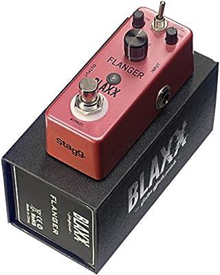 Blaxx Flanger guitarra eléctrica Pedal de efecto: Amazon.es ...
