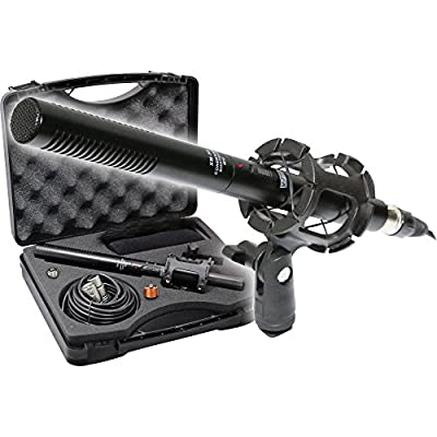 Professional Advanced Broadcast Microphone and accessories Kit for Canon EOS DSLR 5D Mark II III 6D 7D 7D II 70D 60D T6s T6i T5i T4i T3i SL1 Cameras from The Imaging World