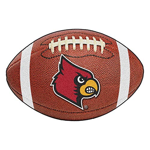 - FANMATS NCAA University of Louisville Cardinals Nylon Face Football Rug