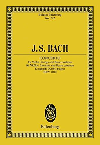 (Violin Concerto No. 2, BWV 1042: in E Major)