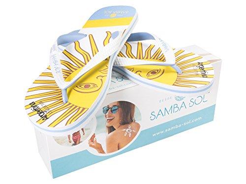 Infradito Collezione Flag Di Samba Sol Mens - Alla Moda E Confortevole. Sandali Alla Moda E Classici Per Uomo. Argentina