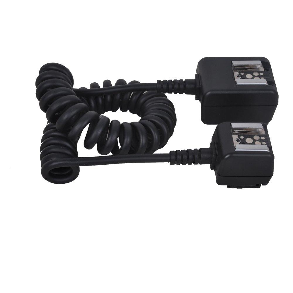 Micnova MQ-M18 Universal TTL Cord for Canon, Nikon, Pentax & Samsung DSLR Camera Flashes