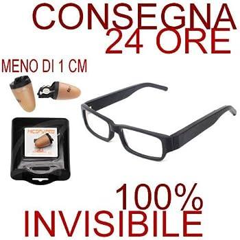 dbab2b7fdc Amazon.com  Bluetooth Exam Device Spy Glasses Nano Wireless Earpiece ...