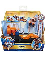 PAW Patrol De Film, Zuma's Deluxe voertuig met verzamelfiguur, speelgoed voor kinderen vanaf 3 jr.