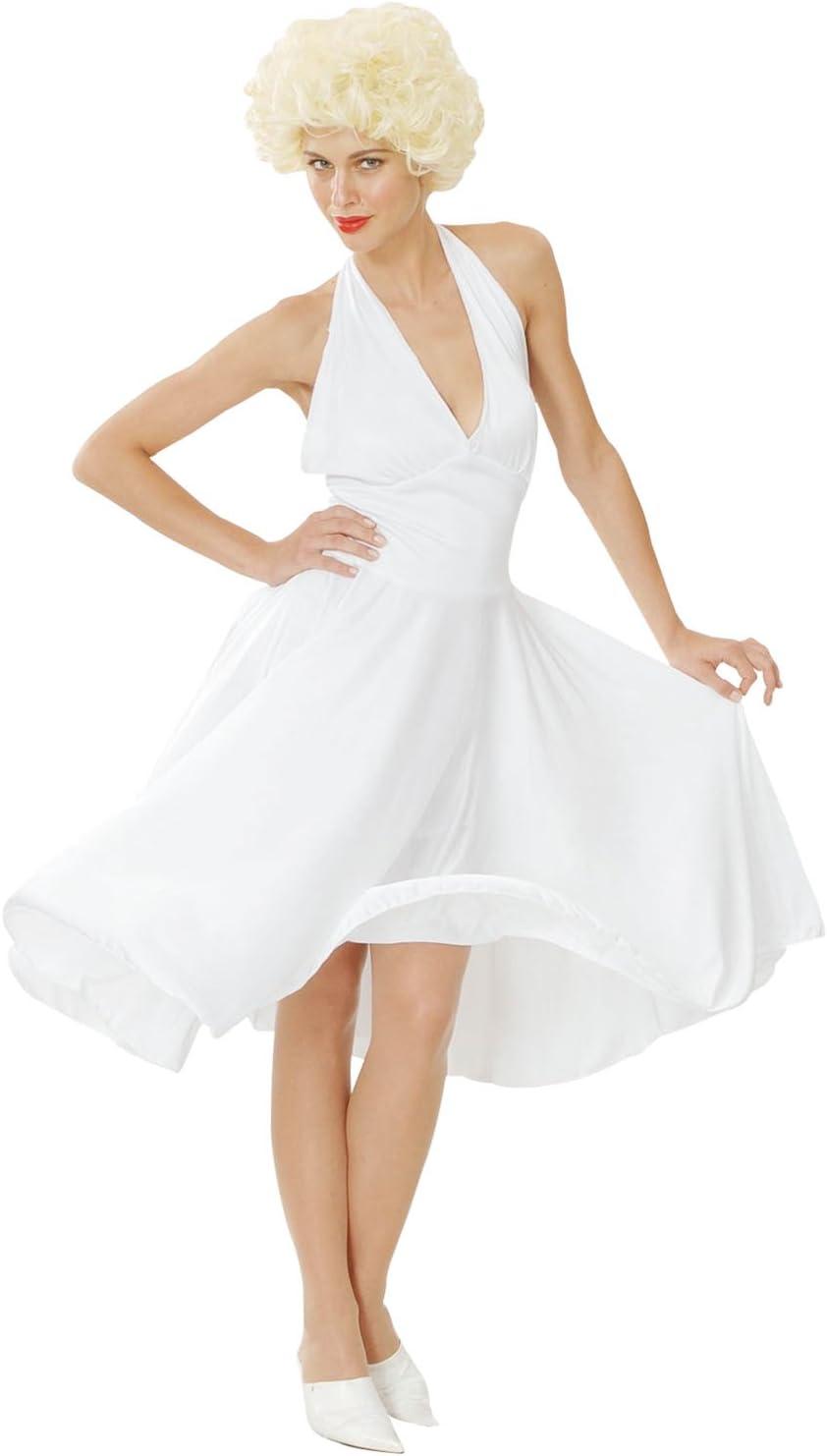 Hollywood - Disfraz de Marilyn Monroe para mujer (AC684): Bristol ...