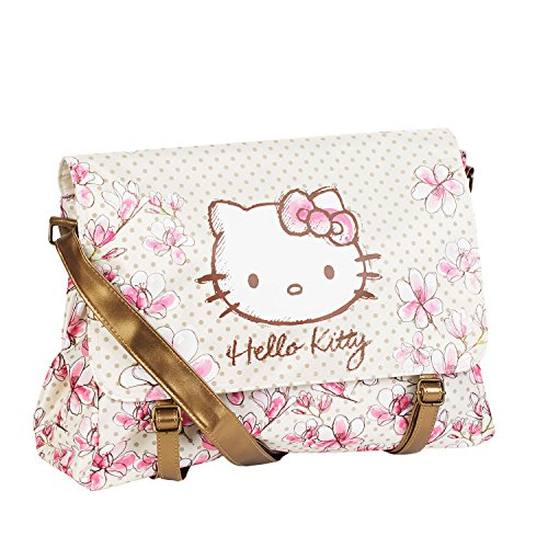 Karactermania Hello Kitty Borsa Messenger, 40 cm, Rosa