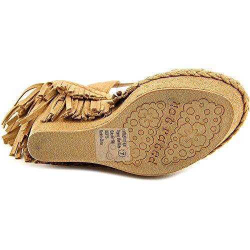 Not Rated Roaring Ruby Damen US 9.5 Beige Keilabsätze Sandale