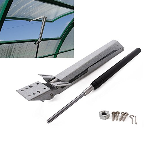 Que-T Solar Heat Sensitive Automatic Thermofor Window Opener,Greenhouse Vent Opener Maximum Lifts 15Lbs by Que-T