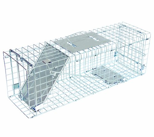 J T Eaton Live Animal Trap, 24in L x 7in W x 8in H