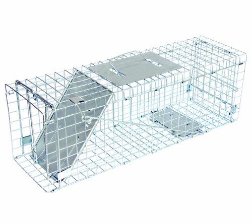 JT Eaton 465N Single Door Live Animal Cage Trap for Mediu...