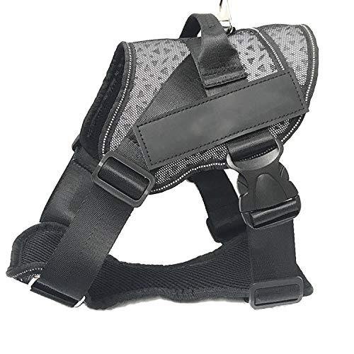 Black M Black M GWM Leashes Pet Harness, Chest Belt, Vest, Large Dog,Dog Harness,Pet Supplies (color   Black, Size   M)