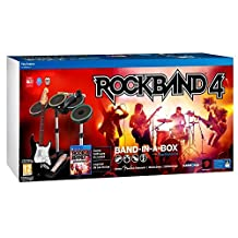MadCatz Music Set Band in a box ROCK BAND 4 (game + guitar + drums + mic) PS4