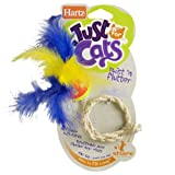Hartz Just For Cats Twist 'n Flutter Cat Toy, My Pet Supplies