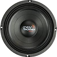 PRV Audio 8MB450-4 Mid-bass Woofer, 225 Wrms, 4 Ohm, Freq Response 72-4k @-10fdBHZ