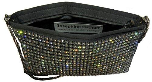 Josephine Osthoff Handtaschen-Manufaktur , Pochette pour femme Noir Noir