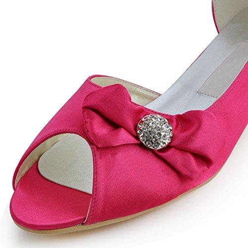 Minitoo , Escarpins pour femme - rouge - Red-3cm Heel,