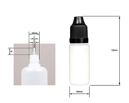 5 x 10ml Bottlle para Cigarros Electrónicos, Sin Nicotina