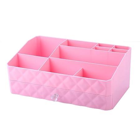 Transparent Papier à lettres stockage Box créative bureau organiseur plastique