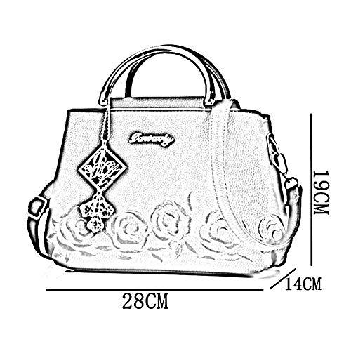 Main 14 Pu 28 Sac Bag Lx5361 Zhwei Paquet Femme Bandoulière Messenger 19cm Automne Mme Mode Décontracté Et À Carré Élégant Petit Hiver Grey La Ef1CRqR