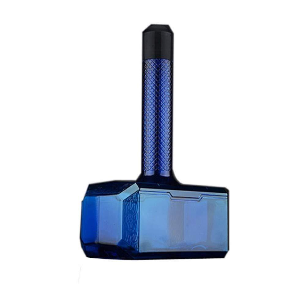 zhenfa Martillo gran capacidad deportes deportes deportes hervidor martillo-taza vaso de plástico al aire libre gran tamaño espacio real taza 1.7L azul bf515f