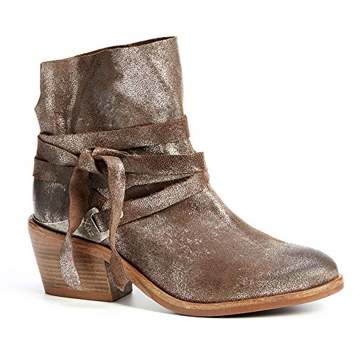 Brown Silver Boots Dark Women's and Cowboy XUZ qwpBIv8p