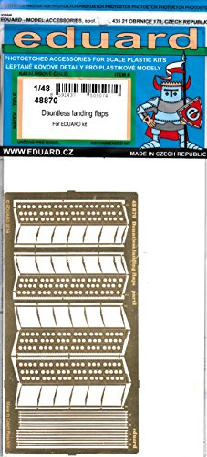 Used, EDU48870 1:48 Eduard PE - SBD-5 Dauntless Landing Flaps for sale  Delivered anywhere in USA