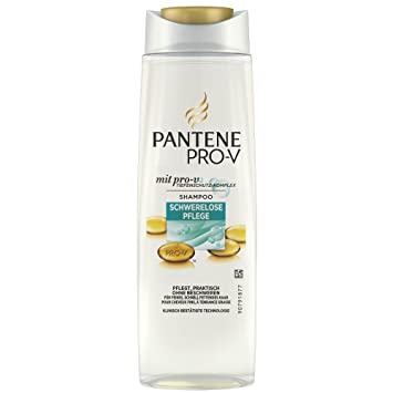 Pantene Pro V Shampoo Schwerelose Pflege Für Feines Schnell