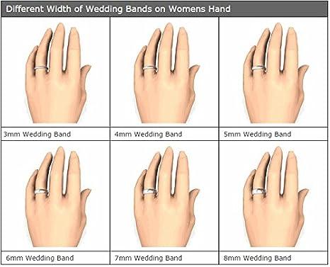 Amazoncom OFG Medium 5mm Width Silicone Unisex Sized Finger Ring