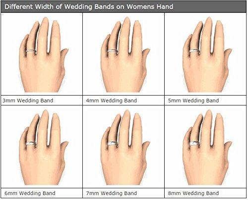 Buy Medium 5mm Width Silicone Unisex Sized Finger Ring Wedding Band
