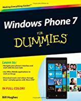 Windows Phone 7 For Dummies Front Cover