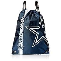 Mochila con cordón y logo grande de los Dallas Cowboys de la NFL