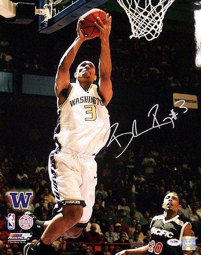 Brandon Roy Signed 16 x 20 Photograph Washington Huskies - Certified Genuine Autograph By PSA/DNA - Autographed Photo
