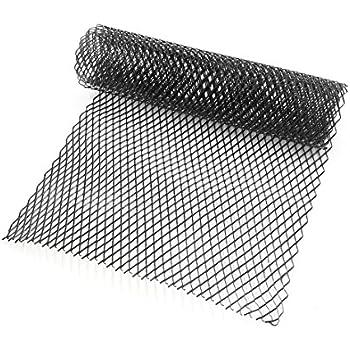 Amazon Com Lanlan 10x20mm Car Grill Grille Vent Mesh Aluminum Alloy