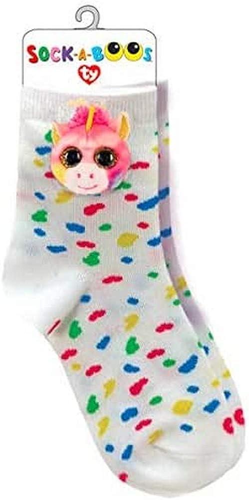 One Size Bambina Multicolore Ty Fantasia Unicorn Calzini