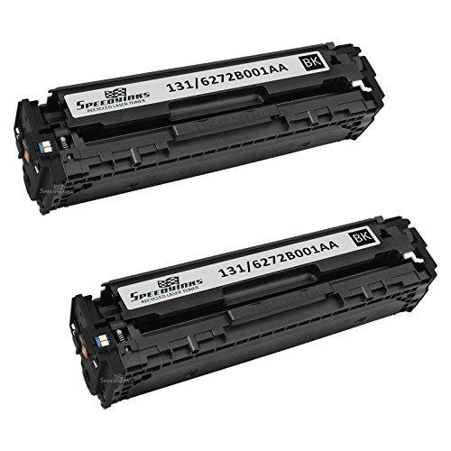 Speedy Inks - 2pk Remanufactured Canon 6272B001AA 131 Black Laser Toner Cartridge for for use in Canon Color ImageCLASS MF8280Cw, Canon Color imageCLASS LBP7110Cw