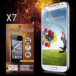 Ships in 24 hours Protective HD Screen Protector for Samsung Galaxy S3 MINI I8190(7PCS)