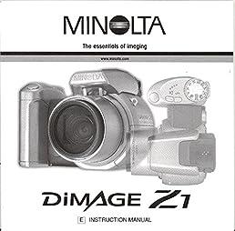 minolta dimage z1 original instruction manual konicaminolta amazon rh amazon com Minolta DiMAGE 7I Minolta DiMAGE XT