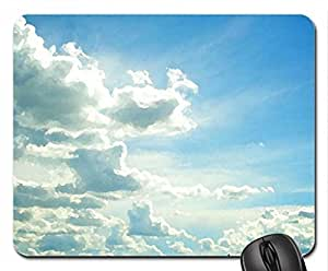 Clouds Over Prairie Sky Mouse Pad, Mousepad (10.2 x 8.3 x 0.12 inches)