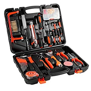EMEBAY - Home Tool Kits Multi-functional & Universal 100 IN 1 Precision Screwdriver Hammer Set Repair Tool Kit for Household Electronics Test Repair Maintenance 100 Pieces Tool Kits (100pcs Tool Kits)