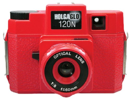 Holga 310120 Holga HOLGAGLO 120N Glow In The Dark Cameras (Infra Red) by Holga