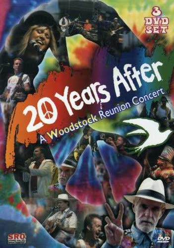 20 Years After - Woodstock Reunion Concert / Timothy Leary, Blood Sweat & Tears, Canned Heat, Iron Butterfly