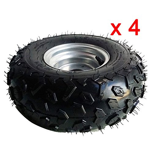 Rim With Tire 50cc 110cc Quad Dirt Bike ATV (6 Wheel Atv)