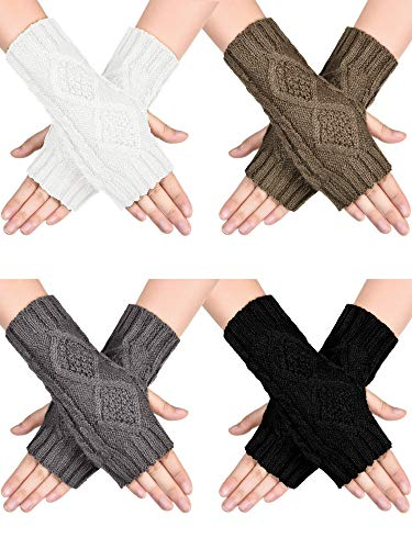 4 Pairs Women Winter Warm...