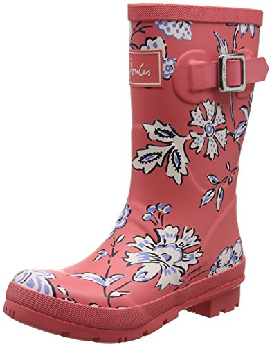 Indienne Welly Floral Red Women's Joules Rain Boot Molly Hqw7nvR1
