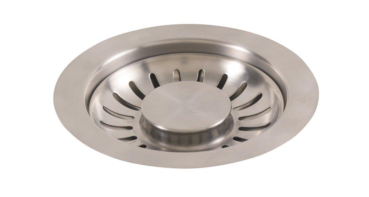 Franke 906SN Universal 3 1/2'' Pop-up Sink Strainer Basket Lever, Satin Nickel